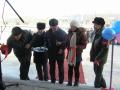 перерезов символическую красную ленту, открыли отремонтированную школу МУСОШ п.Курорт-Дарасун