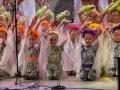 Образцовый ансамбль танца «Росинки Забайкалья» Дома детского творчества №1 г. Чита также доставил радость